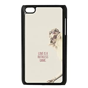 the Case Shop- Customizable Taylor Swift Quotes SingerHard Plastic Case Cover For IPod Touch 4th , p4xq-469