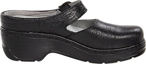 Klogs Schoenen Vrouwen Cali Zwarte Tooled