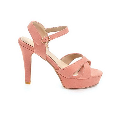 BalaMasa ASL05060 Bout Ouvert Rose Femme OOYUFqaA