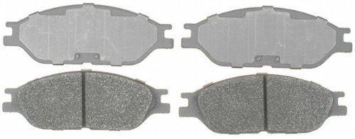 ACDelco 14D803M Advantage Semi-Metallic Front Disc Brake Pad Set