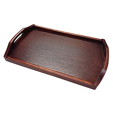 JapanBargain - Wooden Tea Serving Tray Bento Tray 17x10 inch