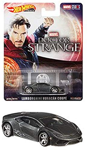 Hot Wheels 2019 Retro Entertainment Series Lambo Huracan Coupe Marvell Doctor Strange 1:64 Scale Collectible Die Cast Metal Toy Car Model