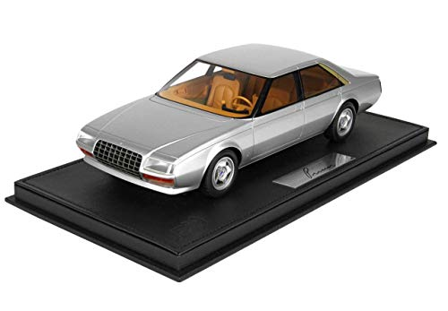 Ferrari 1980 - 1980 Ferrari Pininfarina Pinin Silver Limited Edition to 300 Pieces Worldwide 1/18 Model Car by BBR P18107