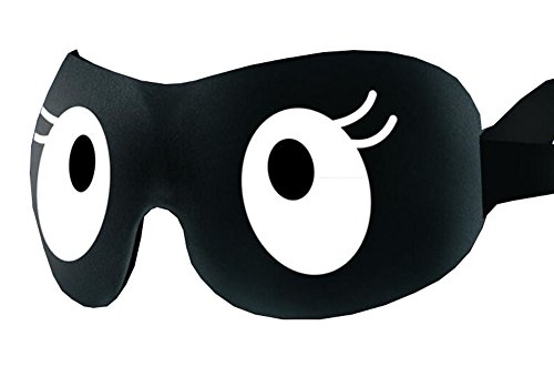 Dolly2u Black Lovely Sleep Mask Sleeping Eye Cover Masks