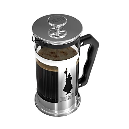 Bialetti Preziosa 8 Cup French Press Coffee Maker, Stainless Steel, Silver 11street Malaysia ...