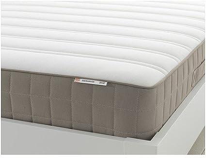 IKEA HAMARVIK núcleo de muelles colchón oscuro Beige; Dureza ...