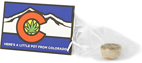 Here's a Little Pot From Colorado Rubber Fridge Magnet. Comes With Handmade, Glazed Pottery Little Pot Attached in White Organza Bag. Perfect Souv…