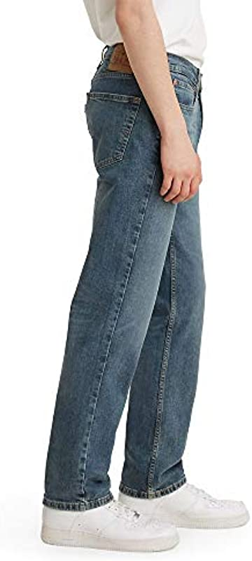 Levi's Męskie 514 Straight Fit Jeans, Zinnia Tint Stretch, 30 W/32 L: Odzież