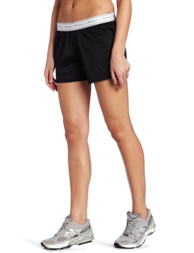 1 Champion Womens Mesh Shorts - Champion Women's Reversible Mesh Short, Black, Medium