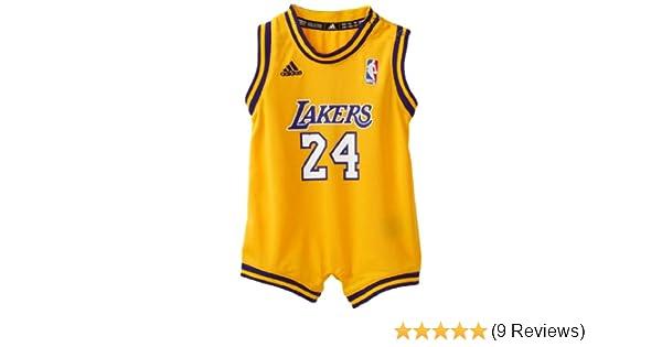 Amazon.com  NBA Infant Los Angeles Lakers Kobe Bryant Home Onesie Jersey -  R22Uqkka (Gold 57d6e7ad5