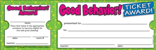 Scholastic Good Behavior! Ticket Awards (TF1613)