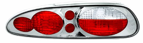 IPCW CWT-CE323 Crystal Eyes Crystal Clear Tail Lamp - Pair - Chevrolet Camaro Tail Lights Crystal