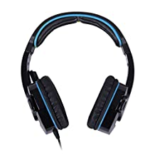 Sades SA708 Gaming Headset for PC Laptop with Hidden Microphone