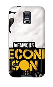 Infamous Second Son Case Compatible With Galaxy S5/ Hot Protection Case