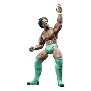 Figura Articulada Lucha Libre Profesional Kofi Kingston