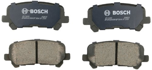 Bosch BC1281 QuietCast Premium Disc Brake Pad - 09 Mdx Acura Brake