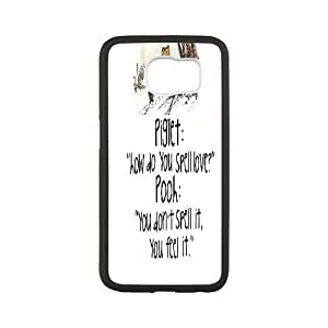 Custom Winnie the Pooh quote Hard Back Cover Case, Custom Brand New Hard Back Case for SamSung Galaxy S6 Winnie the Pooh quote