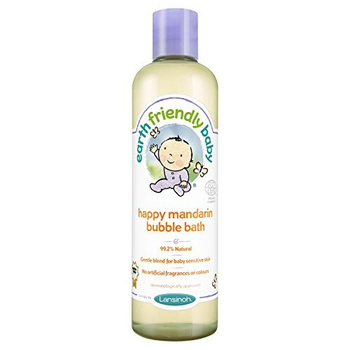 Earth Friendly Baby Happy M and arin Bubble Bath Ecocert by Earth Friendly Baby
