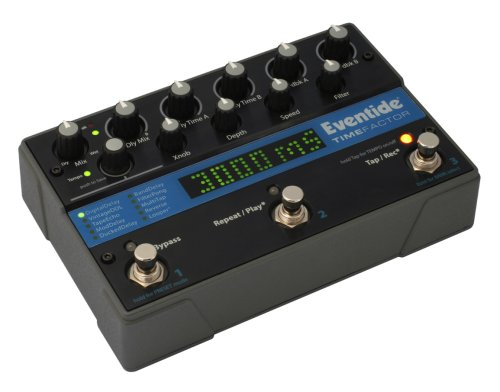 Eventide TimeFactor Twin Delay Pedal - Best Guitar Delay Pedal