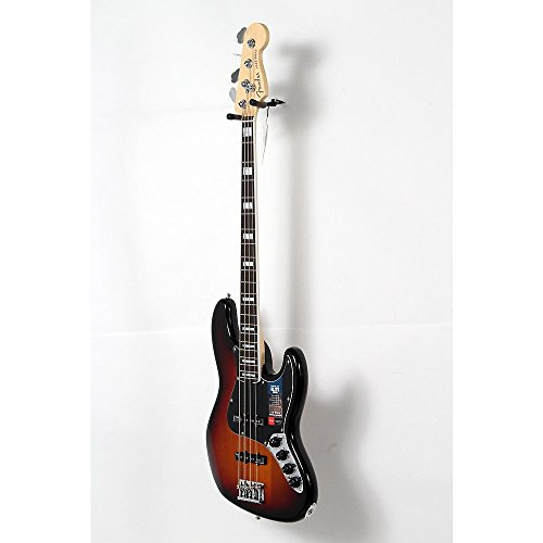 Fender American Elite Rosewood Fingerboard Jazz Bass Level 2 3-Color Sunburst 190839077097 -  USED005011 0197000700