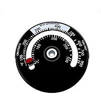 Contiman Termómetro de tubo de combustión de la estufa magnética Indicador de quemado de la estufa Indicador de…