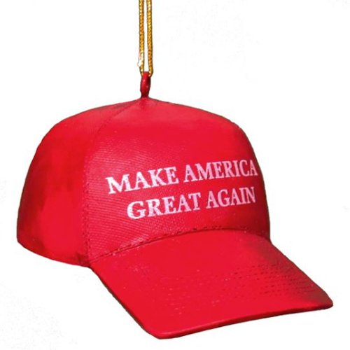 KSA Donald Trump ''Make America Great Again'' Red Cap Ornament