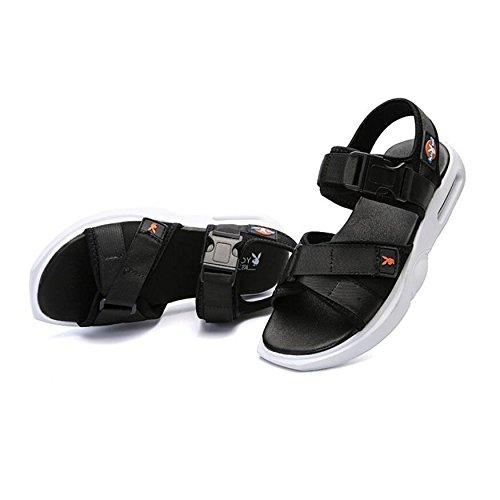 Casual Sandali Rapida Nuovi Sportivi Velcro Black Uomo Traspiranti Estivi Asciugatura Sandali Spiaggia Esterni da 2018 Sandali A con Ad Chiusura Scarpe Sandali da CHENGXIAOXUAN BEwzqx65