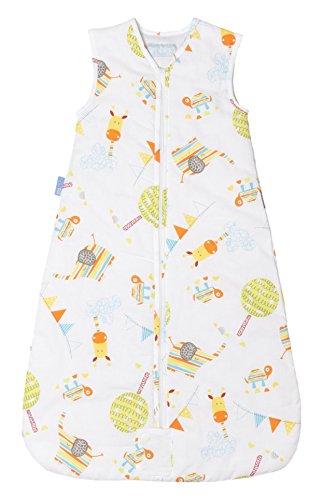 Gro A Jugar - Saco de dormir versión viaje, para 0-6 meses, 68 cm, multicolor: Amazon.es: Bebé