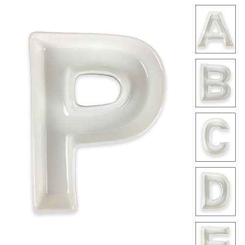 letters dishes - 3