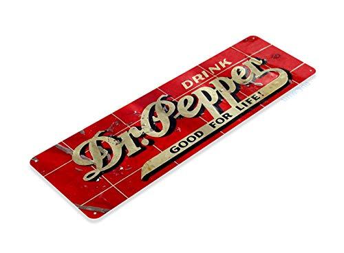 (Tinworld Tin Sign Dr Pepper Rustic Retro Cola Metal Sign Decor Kitchen Cottage Farm Cave A341)