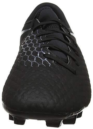 Black de FG 3 Fútbol 001 Zapatillas Hypervenom Negro Hombre para Nike Academy qwvRUX4