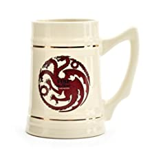 Game of Thrones Collectible Ceramic Stein, House Targaryen