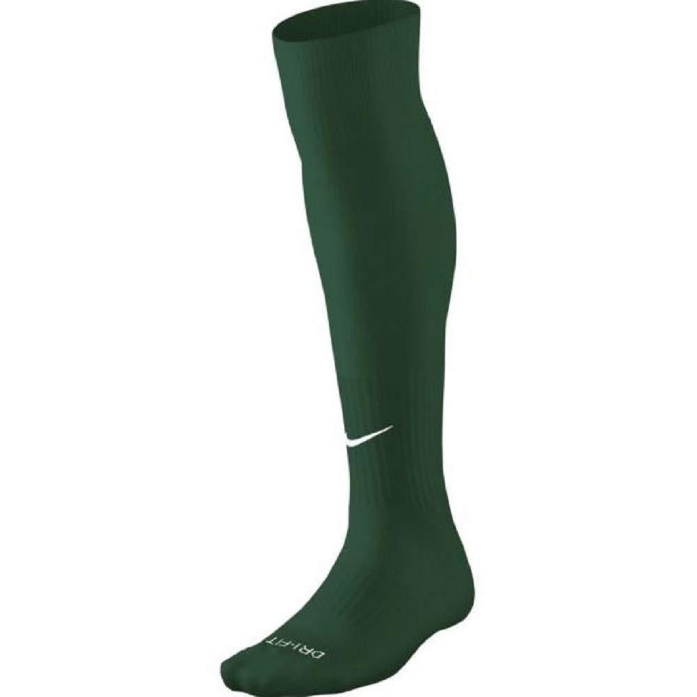 Unisex Nike Classic Cushion Over-the-Calf Football Sock (Medium, Dark Green) by Nike