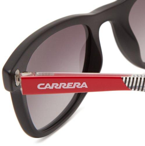 Dark de Negro 6000 9O Unisex Shaded Matte Red sol Grey Black Gafas 862 Striped Carrera adulto 50 wqBOfxSwY