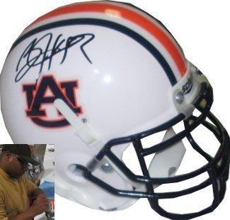 Auburn Tigers Signature Helmet (Bo Jackson Signed Autograph Auburn Tigers Authentic Schutt Mini Helmet - center-Black Signature- Jackson Hologram)