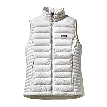 48ac9148add Patagonia Down Veste sans manches Femme Birch White FR   XS (Taille  Fabricant   XS