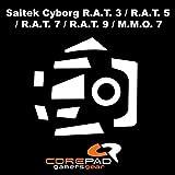 Corepad Mausfüße Skatez Pro 51 Saitek Mad Catz Cyborg R.A.T. 3 - Saitek Mad Catz Cyborg R.A.T. 5 - Saitek Mad Catz Cyborg R.A.T. 7 - Cyborg R.A.T 7 Contagion - Mad Catz Cyborg M.M.O.7 - Saitek Mad Catz Cyborg R.A.T. 9