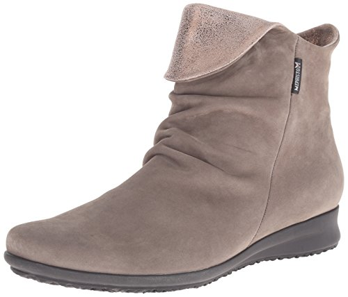 Dark Pewter Boot Taupe Bucksoft Women's Fiorella Mephisto Fashion vqHnBX7