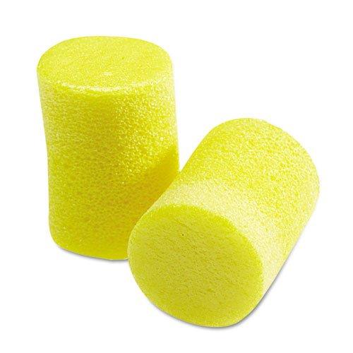 EAR Classic Earplugs, Pillow Paks, Uncorded, Foam, Yellow, 30 -
