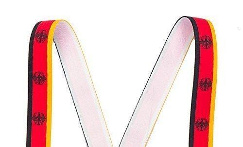 shenky - Bretelles en X - 4 pinces résistantes - armoiries couleurs de l  7ad4c20f702