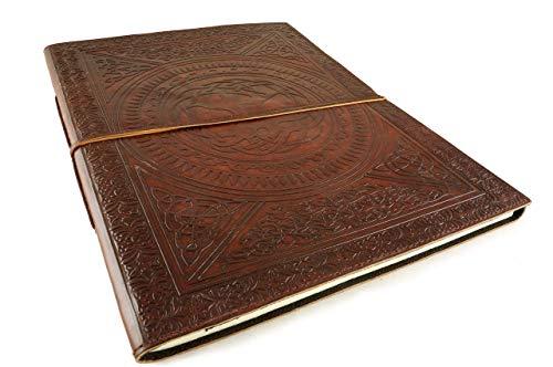 (Leather Sketchbook Journal Artist Celtic Artwork 12