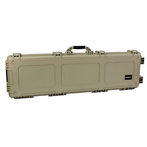"Condition 1 53"" XL #818 Tan Waterproof Rifle and Shotgun Cas"