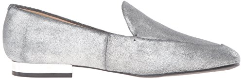 Nine West Women's Xalan Metallic Ballet Flat Pewter Y2m9I5xA