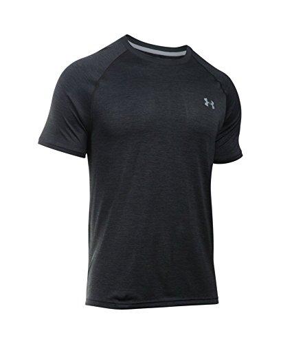 Under Armour Men's Tech Short Sleeve T-Shirt, Black /Steel, XXX-Large by Under Armour (Image #3)