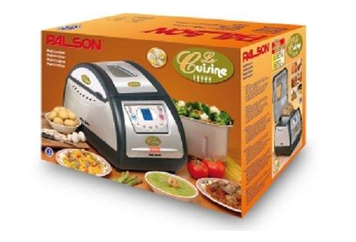 Palson Le Cuisine - Panificadora, temporizador, 12 programas, 800 W, acero inoxidable, color plata: Amazon.es: Hogar