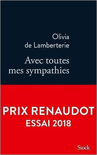 Amazon Fr Avec Toutes Mes Sympathies Olivia De