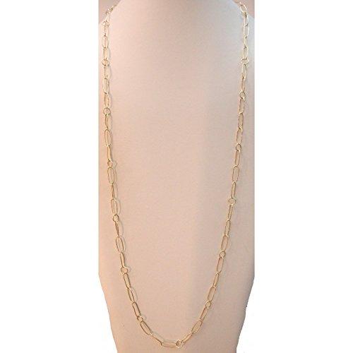 Damiata bijoux-Collier Ras du cou avec chaîne en or jaune 18 Cts