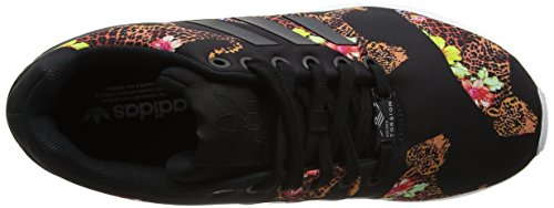 Black ftwr Femme Zx Flux Adidas Basses Black Multicolore Baskets White core core qBzAwAT
