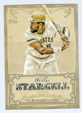 (Willie Stargell baseball card (Pittsburgh Pirates) 2013 Topps Calling Card #CC-6)