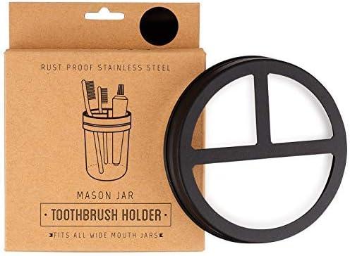 Jarmazing Products Mason Toothbrush Holder